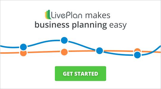 LivePlan简单地制作业务betway手机网页规划。开始。